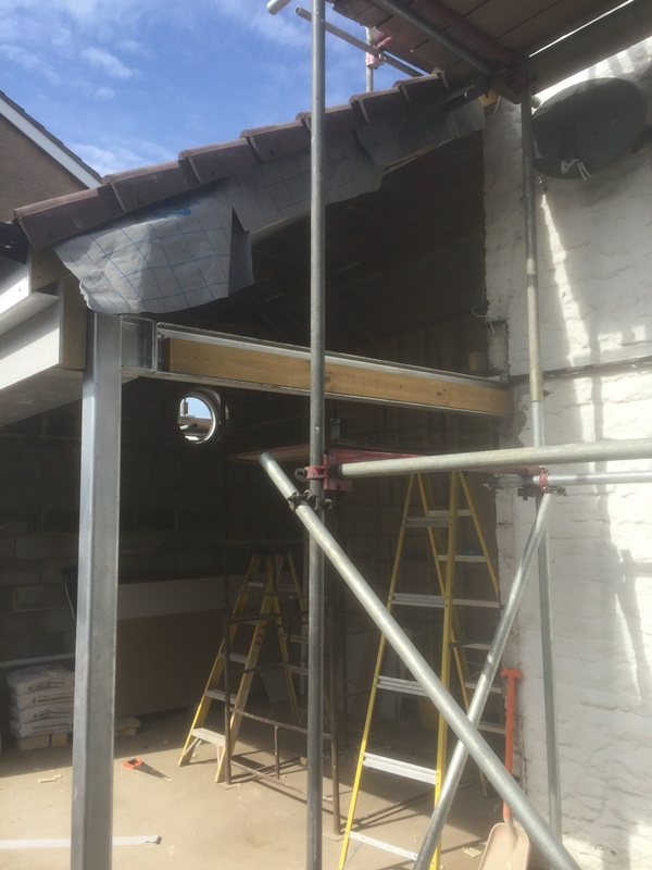 Scaffolding Extension & House Conversion Bristol, Beefree Construction