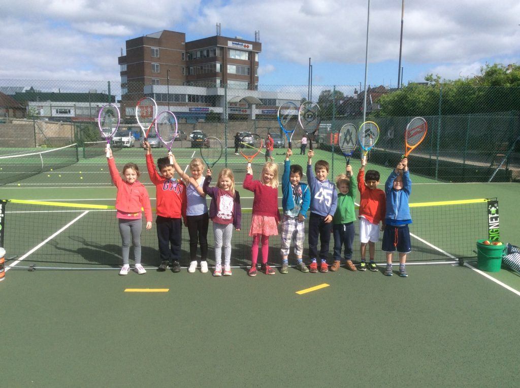 coaching at knowle lawn tennis club